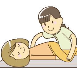武蔵野台駅前整骨院の骨盤矯正施術